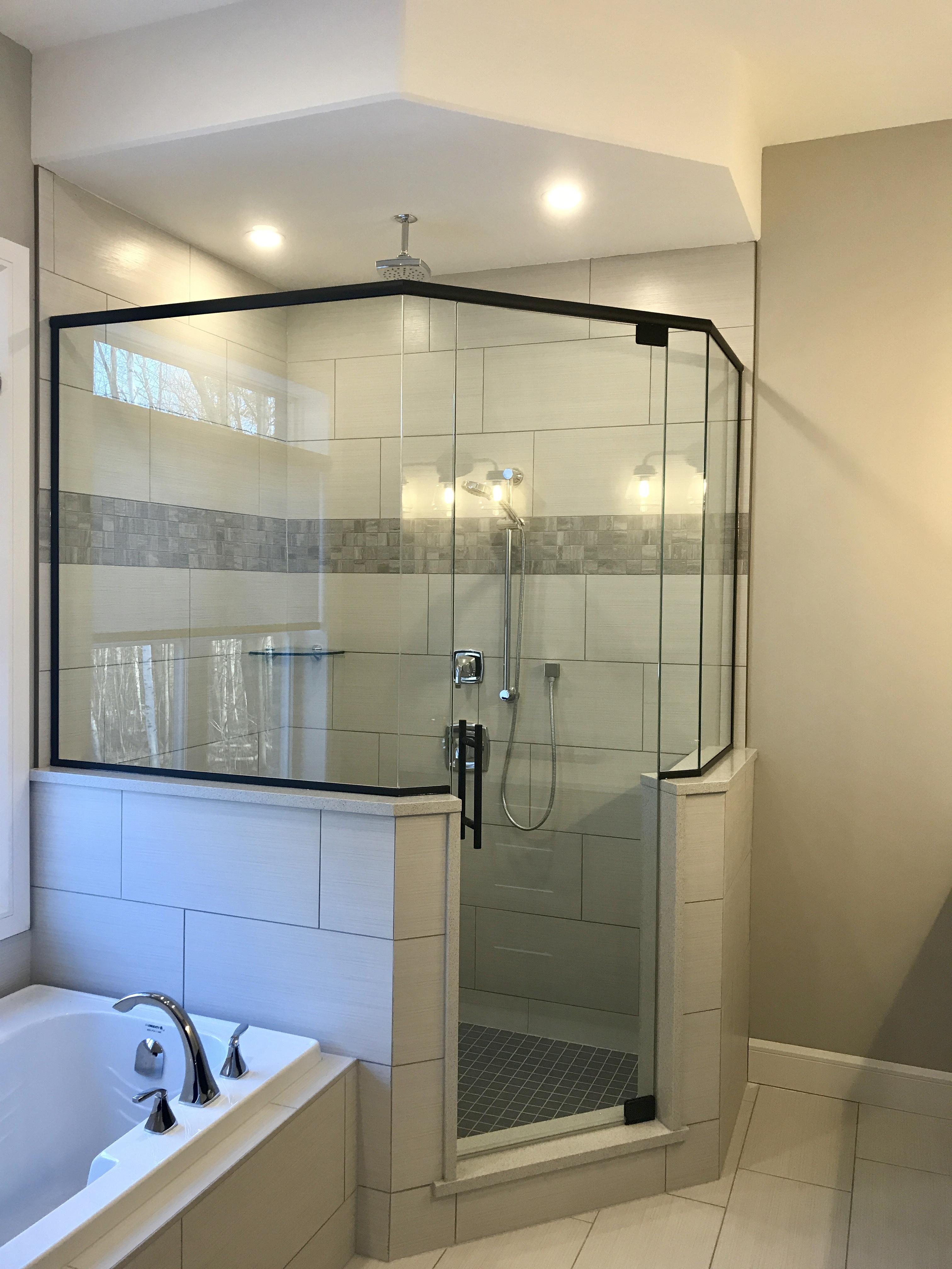 Custom Glass Shower Enclosures Vics Glass Window And Doors